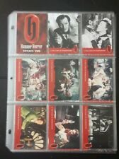 Hammer Horror Series 2, trading card set.54 cards.Peter Cushing Christopher Lee