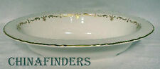 ROYAL WORCESTER china GOLD CHANTILLY pattern Oval Vegetable Serving Bowl