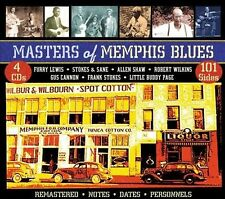 Masters of Memphis Blues [Box] by Various Artists (CD, Aug-2013, 4 Discs, JSP...