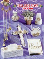 Golden Rose Decor ~ Chimes Cross Coasters & More plastic canvas patterns