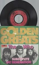 "7""--THE WHO--SUBSTITUTE--MY GENERATION--"