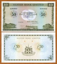 Ireland Northern, Ulster Bank, 50 pounds, 1982, P-329, UNC