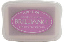 BRILLIANCE Archival Pigment Ink Pad  PEARLESCENT ORCHID