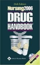 Nursing 2006 Drug Handbook26th Edition Mini CD-ROM Included