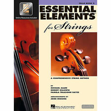 Hal Leonard Essential Elements For Strings Cello (Book 2 with EEi)