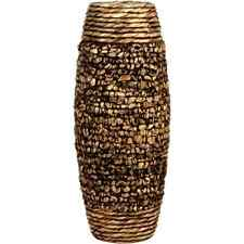 "Tall Hyacinth Floor Vase 23"" Big Brown Woven Decorative Large Elegant Home Décor"