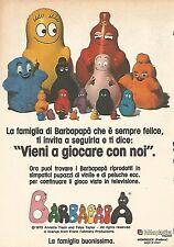 X0944 BARBAPAPA' la famiglia buonissima - Pubblicità del 1976 - Vintage advert.
