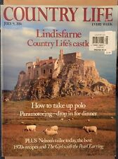 Country Life Every Week Take Up Polo UK July 9 2014 FREE Priority SHIPPING!