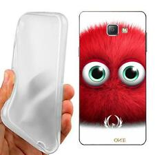 CUSTODIA COVER CASE TPU RED MOSTER PER SAMSUNG GALAXY A5 A510 ED.2016