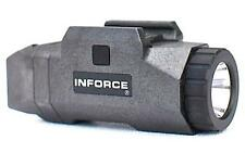 New Authentic Inforce APL Pistol Mounted Light White LED Black INF-APL-B-W