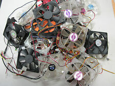 2x 120mm Cooling Fans USED - All tested OK - Pulled from working systems LOT#2
