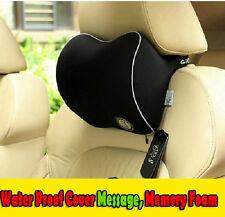 Massage Dots Memory Foam Car Seat Head Neck Rest Cushion Pillow Support Headrest