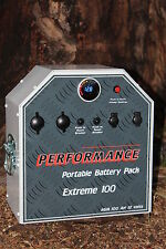 EXTREME 100AH Portable 12V Dual Battery System Kit 100amp FRIDGE 4X4 THUMPER