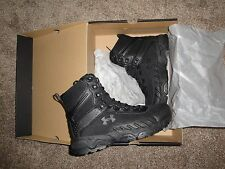 NEW Mens Under Armour Valsetz 2.0 RTS Tactical Boots Black Size 10.5 Military