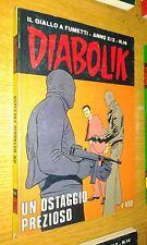 DIABOLIK ORIGINALE ANNO 19° - ANNO XIX - N° 16 - 1980 -UN OSTAGGIO PREZIOSO