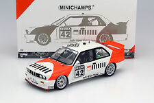 BMW M3 E30 #42 Cor Euser BMW Dealerteam DTM 1991 1:18 Minichamps