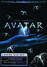 Avatar [Extended Collector's Edition (2011, DVD NIEUW) WS/Extended ED.3 DISC SET