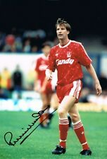 Signed Ronnie Whelan Liverpool Autograph Photo Republic Of Ireland + Proof