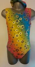 Girls New 10-12 Twinkle sleeveless leotard disco/gymnastics/dance