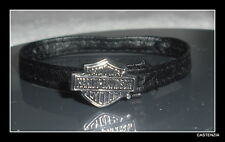 BELT ACCESSORY MATTEL KEN HARLEY DAVIDSON BLACK FAUX LEATHER BELT  2669
