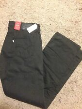 NWT LEVIS 514 STRAIGHT JEANS MENS 38X32 STYLE DARK GRAY  MSRP $60