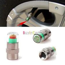 3 Color Alert Car Auto Tire Pressure Monitor Valve Stem Cap Sensor Safe Package