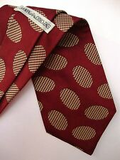 EMPORIO ARMANI cravatta tie original 100% seta silk made in Italy new