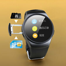 Bluetooth Smart Watch Phone KING-WEAR KW18 Sim&TF Card Heart Rate Smartwatch HR