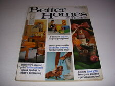 BETTER HOMES AND GARDENS Magazine, November 1969, Holiday Food Gifts, 60's Decor