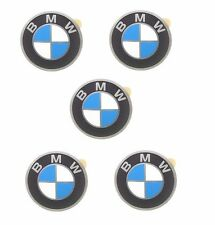 x5 OE Supplier Wheel Center Hub Cap Roundel Emblems 45mm Fits BMW Logo Sign