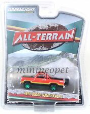 GREENLIGHT 35010 C ALL TERRAIN 1978 DODGE RAMCHARGER PICK UP 1/64 GREEN MACHINE
