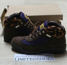 TIMBERLAND X SUPREME BROWN LEOPARD 85511 US 9.5 FILED BOOTS cdg leahter