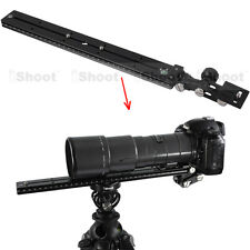 Long-Zoom Lens Support Holder + Camera Quick Release Plate for Tripod Mount Ring