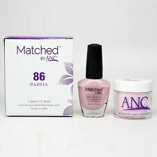 ANC Amazing Nail Concepts Matched kit # 86 Dahlia