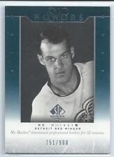 """2003/04 SP Authentic Honors  H4 Gordie Howe """"Mr Hockey"""""""