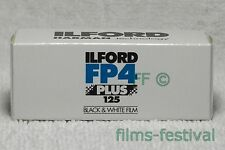 3 rolls ILFORD FP4 125 Plus B&W120 Film