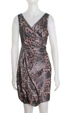 NEW MOSCHINO Cheap and Chic LEOPARD PRINT DRESS SIZE 6 $605 ITALY
