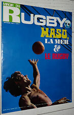 MIROIR RUGBY N°96 1969 ALL BLACKS NZ JO MASO LOURDES GACHASSIN ROQUES TOULOUSE