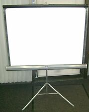 "MOVIE SCREEN WITH TRIPOD STAND DA LIGHT   40"" X 40""  1"