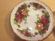 4  Royal Albert Old Country Roses Butter Pats / Coasters