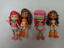 STRAWBERRY SHORTCAKE PLAYSET HOUSE  REPLACEMENT DOLL  LOT  4   DOLLS