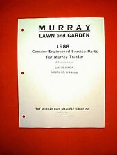 MURRAY TRACTOR / RIDING MOWER SLEEVE HITCH ATTACHMENT MODEL 8-24800 PARTS MANUAL