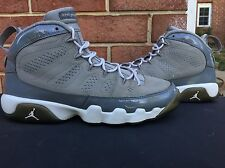 2012 Nike Air Jordan Retro 9 Cool Grey 6.5 Supreme Bape Fieg Sb Nmd Boost Max