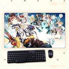 New Anime Tales of Zestiria DIY Thicken Gaming Playmat Extra Large Mousepad Mat