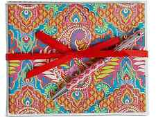 NWT Vera Bradley Notecards with Pen in Paisley in Paradise 15208 379 BC