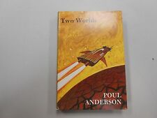 SIGNED Two Worlds by Poul Anderson (1978, Gregg Press Hardcover)! RARE AND HTF!