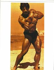 Bodybuilder MIKE MENTZER Mr Universe 1976 Bodybuilding Color Photo