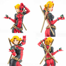 "Marvel Bishoujo Statue DC Marvel Comics Lady Deadpool 1/7 Scale 9.45"" Figure Toy"