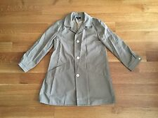 APC A.P.C. Women's Beige Cotton Blend Rain Trench Coat Jacket M Medium $530