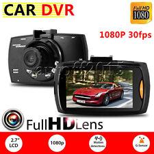 HD LCD 1080P Car DVR Camera Video Recorder G-sensor Dash Cam Night Vision